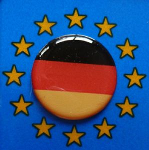 3D GEL sticker  SET of 4 'Germany'  Size approx 21.5 mm